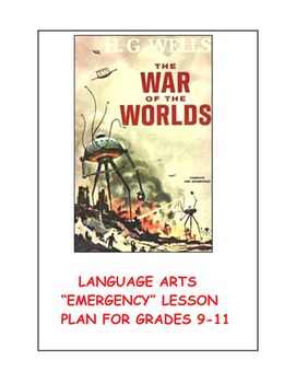 "Language Arts ""Emergency"" Lesson Plan for Grades 9-11"
