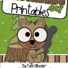 Language Arts - Groundhog Day Printables