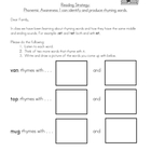 Language Arts Homework Set 1