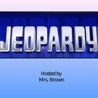 Language Arts Skills Jeopardy Powerpoint