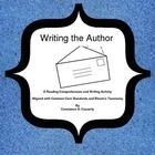 Language Arts: Writing the Author Worksheet
