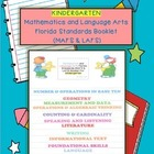 Language Arts and Math Florida Standards Flipchart for Grade K