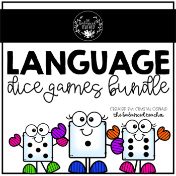 Language and Grammar Roll a Dice Games