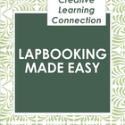 Lapbooking Made Easy