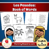 Las Posadas Bilingual Minibooks of Words