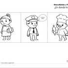Las profesiones - Profession printables in Spanish
