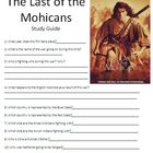 Last of the Mohicans Study Guide and Comprehension Questions