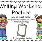 Writing Workshop Posters and much more ~ Lucy Calkins inspired ~