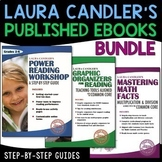 Laura Candler Premium Math and Reading eBook Trio