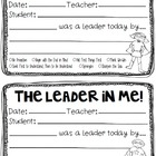 Student Leadership Recognition Form