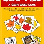 Leaf Pile- A Sight Word Game