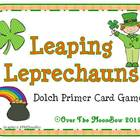 Leaping Leprechauns Dolch Primer Sight Words Game
