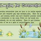 Leaping for Contractions: A Literacy Center Game