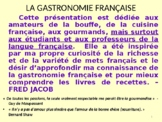 Learn about food in French - Lesson Plan