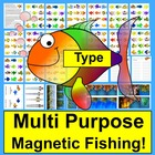 Learning Center- Magnetic Fishing Game MultiPurpose
