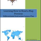 Learning How to Read a Map Lesson Plan Bundle