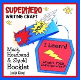 Superhero Writing Craft Kindergarten First Grade {Mask wit