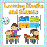 Learning Months and Seasons - a CCSS aligned Mini Unit for