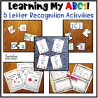 Learning My ABCs Activity Pack