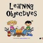 Learning Objectives Posters - Camping Theme