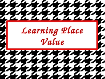 Learning Place Value PowerPoint Presentation