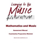 Learning To The Music (Volume 1) - Workbook Assessment