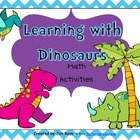 Learning With Dinosaurs! Math Unit