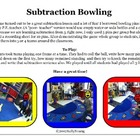 Learning about Subtraction with Bowling