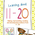 Learning about numbers 11 - 20