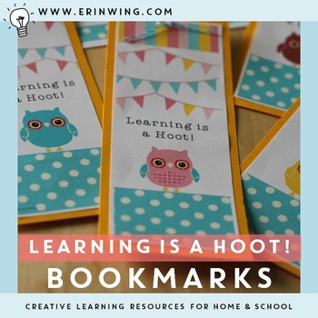 Learning is a Hoot Bookmarks