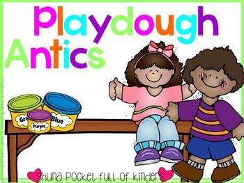 Learning the Alphabet Centers {A Playdough Pack}