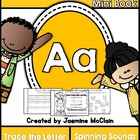 Learning the Letter A Mini Book