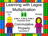 Learning with Legos - Multiplication x2  Common Core 3.OA.