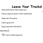 Leave Your Tracks While Reading