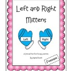 Left And Right Mittens~ A Free Learning Tool