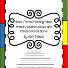 Lego and Lego Friends Themed Writing Paper