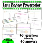 Lens Review Powerpoint
