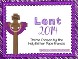 Lent Theme 2014 Freebie