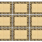 Leopard Print Label Sheet