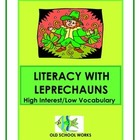 St. Patricks Day Leprechaun High Interest Low Vocabulary L