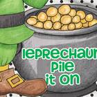 Leprechaun Pile It On... Math fun for older kids