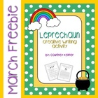 Leprechaun Writing Activity