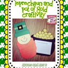 Leprechaun and Pot of Gold Craftivity