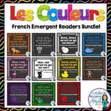 Les Couleurs:  French Emergent Reader Bundle Featuring 11