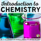 Lesson Plan Bundle: Introduction to Chemistry