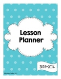 Lesson Planner Freebie