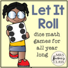 Let It Roll! {Dice Games All Year Long}