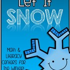Let It Snow - Winter Literacy & Math Center Activities