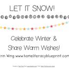 Let it Snow Celebration Banner