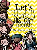 Let's Celebrate Women's History Month